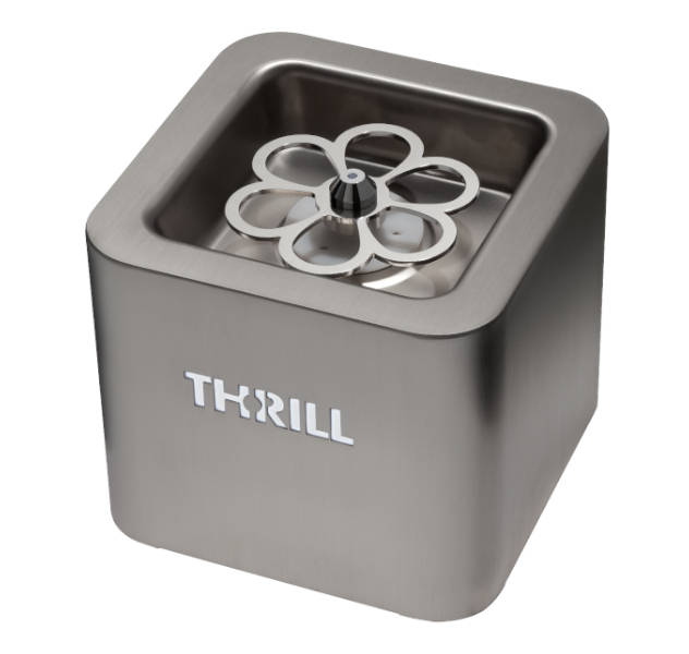 Steel Thrill Vortex Cube glass chiller